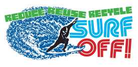Reduce Reuse Recycle Surf Off